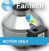 Fantech Kitchen & Bath Motor Only